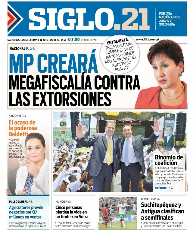 Ministerio Público creará Megafiscalía contra las Extorsiones
