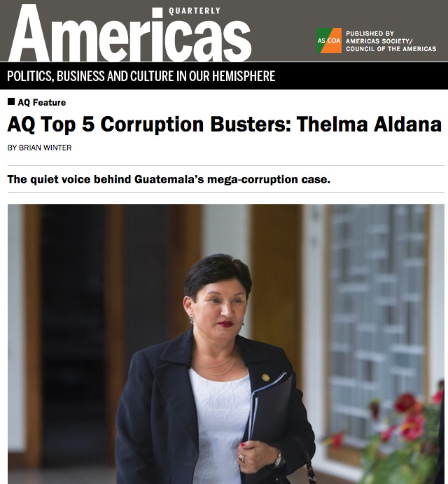 A AY Top 5 Corruption Busters: Thelma Aldana